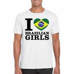 I love brazilian girls t shirt wit heren