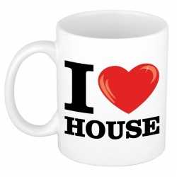 I love house beker/ mok 300 ml