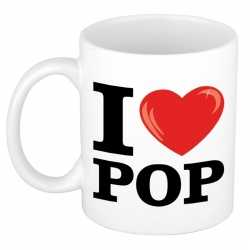 I love pop beker/ mok 300 ml