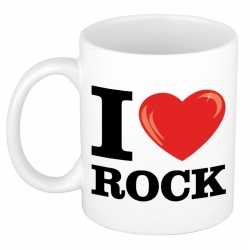 I love rock beker/ mok 300 ml