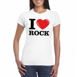 I love rock t shirt wit dames
