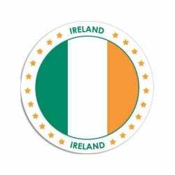 Ierland sticker rond 14,8