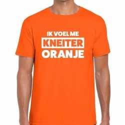 Ik voel me kneiter oranje koningsdag t shirt heren
