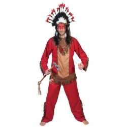 Indiaan lootah verkleed kostuum heren