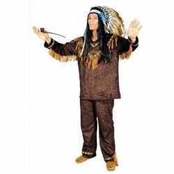 Indianen kostuum hania heren