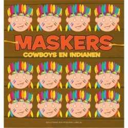 Indianen maskers 10 stuks