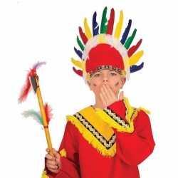 Indianen tooi kinderen