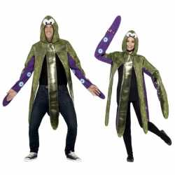 Inktvis kostuum volwassenen