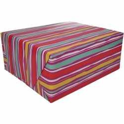 Inpakpapier roze strepen design 200 bij 70 op rol type 4