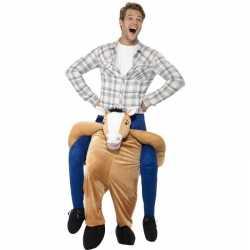 Instap dierenpak kostuum paard volwassenen