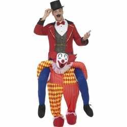 Instapkostuum circus clown volwassenen