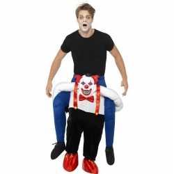 Instapkostuum enge horror clown volwassenen