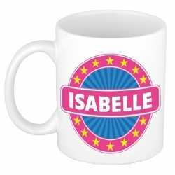 Isabelle naam koffie mok / beker 300 ml