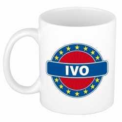 Ivo naam koffie mok / beker 300 ml