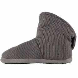 Jongens hoge pantoffels/sloffen grijs