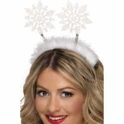 Kerst diadeem sneeuwvlokken