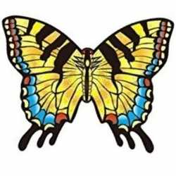 Koninginnepage vlinder vlieger 70 bij 48