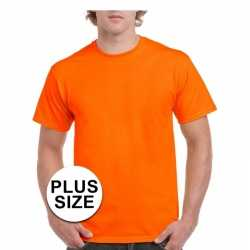 e652c06320c Koningsdag grote maten fel oranje shirt volwassenen