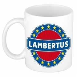 Lambertus naam koffie mok / beker 300 ml
