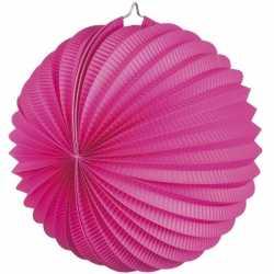 Lampion fuchsia roze 22