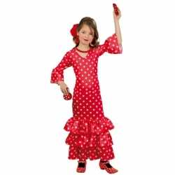 Lange Spaanse jurk meisjes