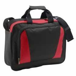 Laptop tas rood/zwart 40