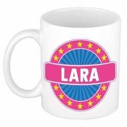 Lara naam koffie mok / beker 300 ml
