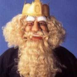Latex gezichtsmasker Koning