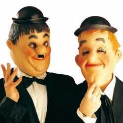 Laurel Hardy maskers