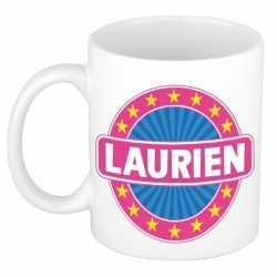 Laurien naam koffie mok / beker 300 ml