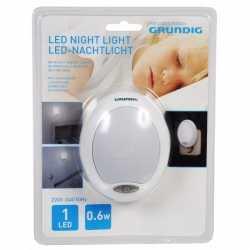 Led nachtlampje wit sensor