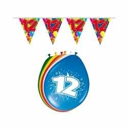 Leeftijd feestartikelen 12 jaar setje