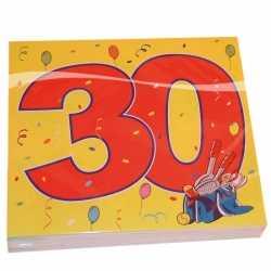 Leeftijd servetten 30 jaar