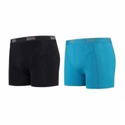 Lemon and soda boxershorts 2 pak zwart blauw l