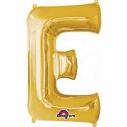 Letter E ballon goud 86