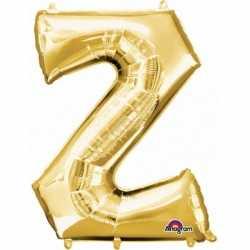 Letter Z ballon goud 86