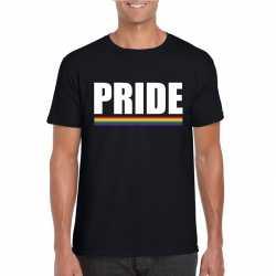 Lgbt shirt zwart pride heren