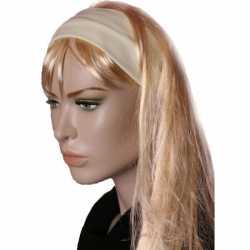 Lichtgele stretch haarband