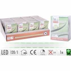 Lichtslang led strip op batterij groen binnen 1 meter