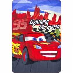 Lightning mcqueen fleece deken jongens