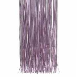 Lila paarse kerstversiering folie slierten 50