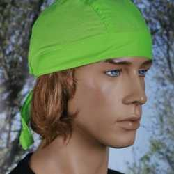 Lime groene bandana uni 1