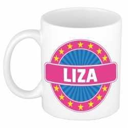 Liza naam koffie mok / beker 300 ml