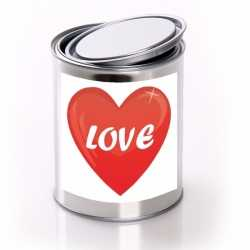 Love cadeaublik hartje
