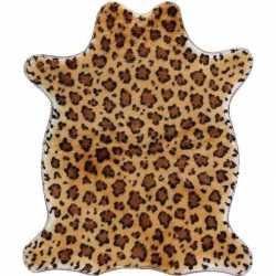 Luipaard nep dierenvel kleed/plaid 90