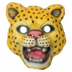 Luipaard/panter verkleed dierenmasker kinderen
