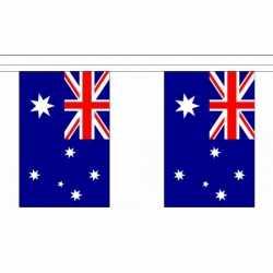 Luxe Australie vlaggenlijn 9 m