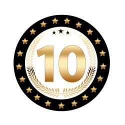 Luxe Bierviltjes 10 jaar