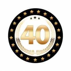 Luxe Bierviltjes 40 jaar