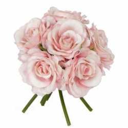 Luxe boeket roze rozen 20